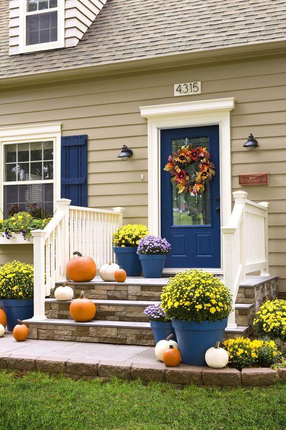 Покраска оштукатуренного фасада дома